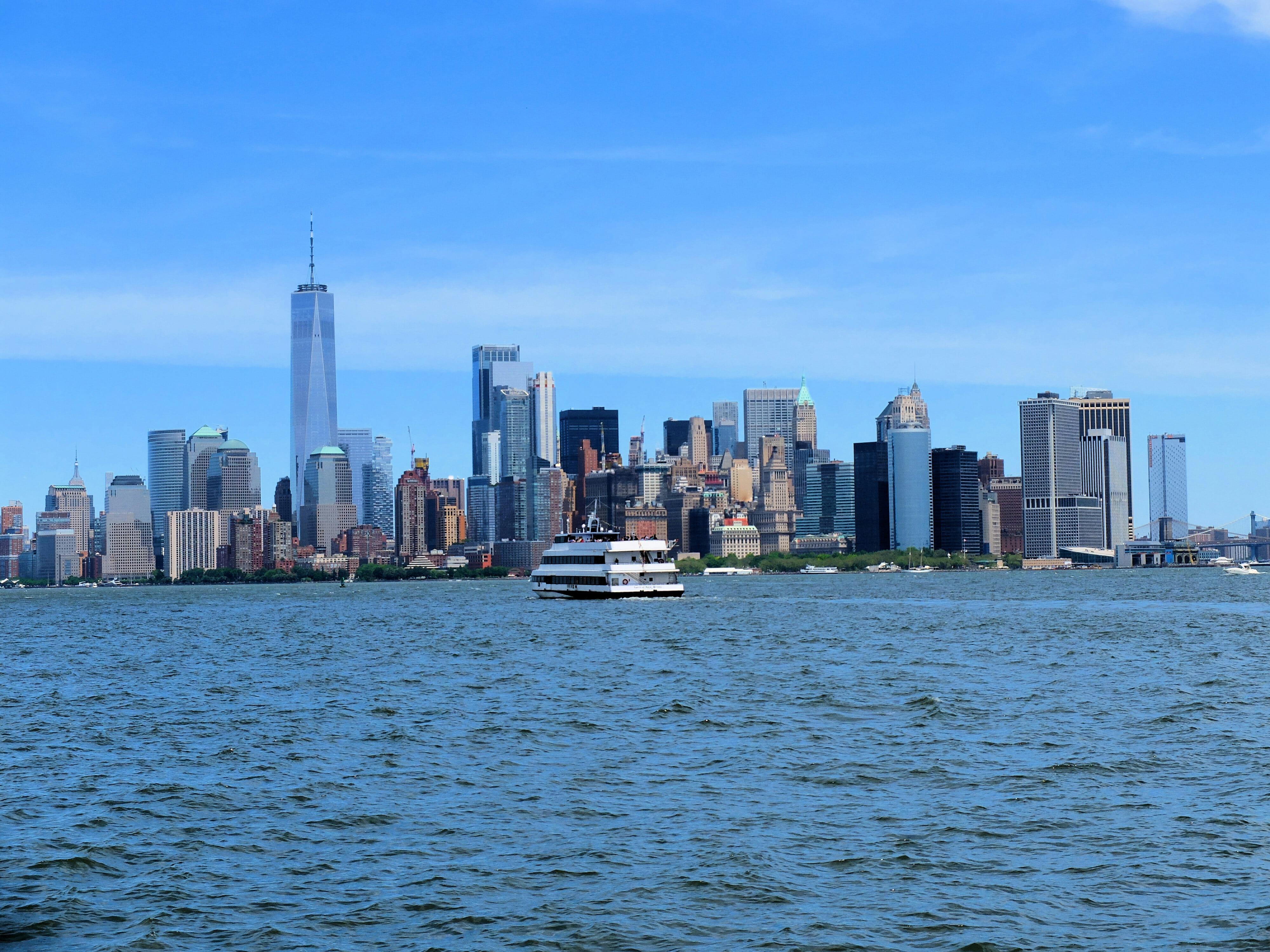 New York City Skyline High Quality Wallpaper