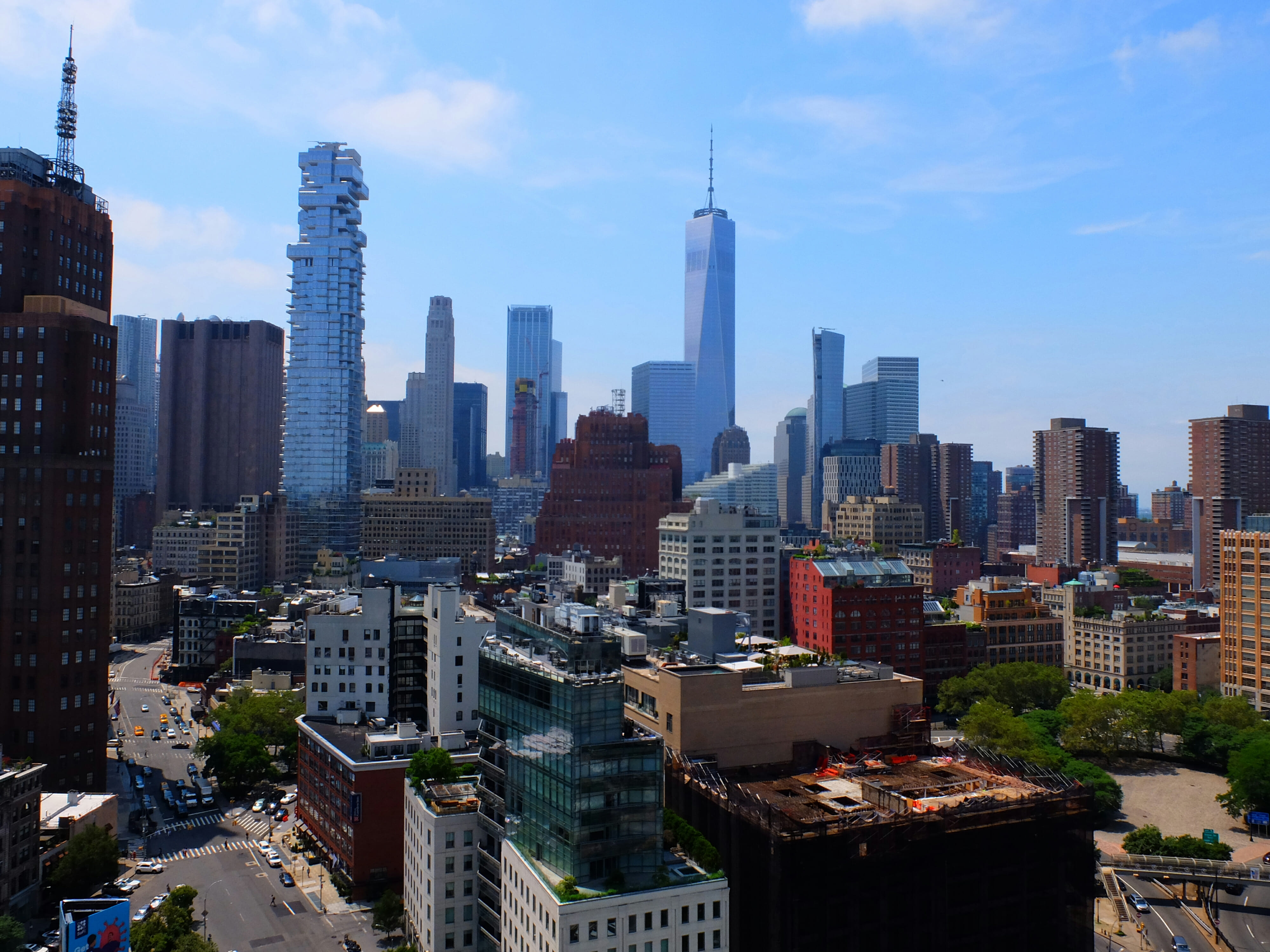 New York Cityscape High Quality Wallpaper