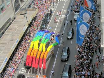 El Día del Orgullo Gay en Nueva York - Arcoiris