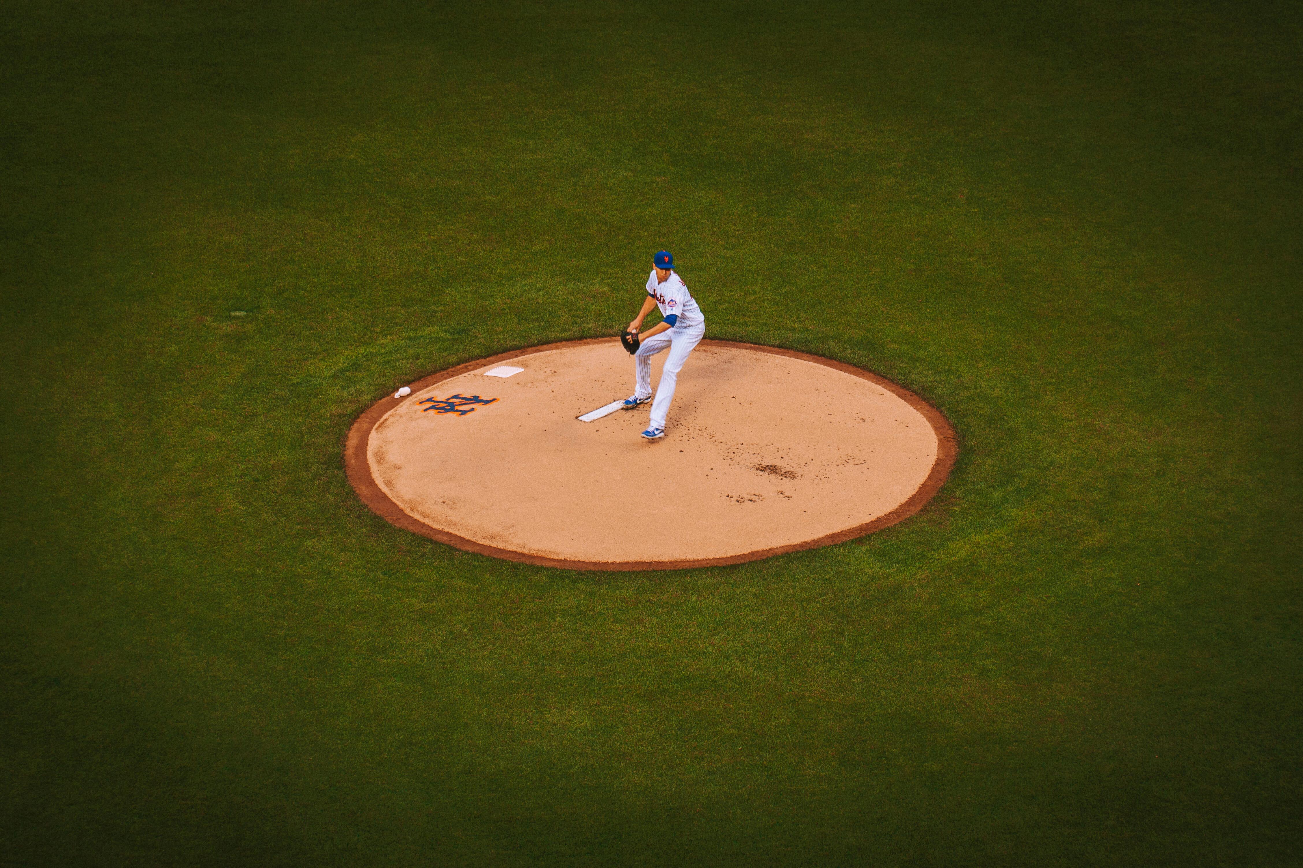 New York Mets Baseball Player High Quality Wallpaper