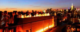 Salir por la noche en Uptown o Downtown, Nueva York