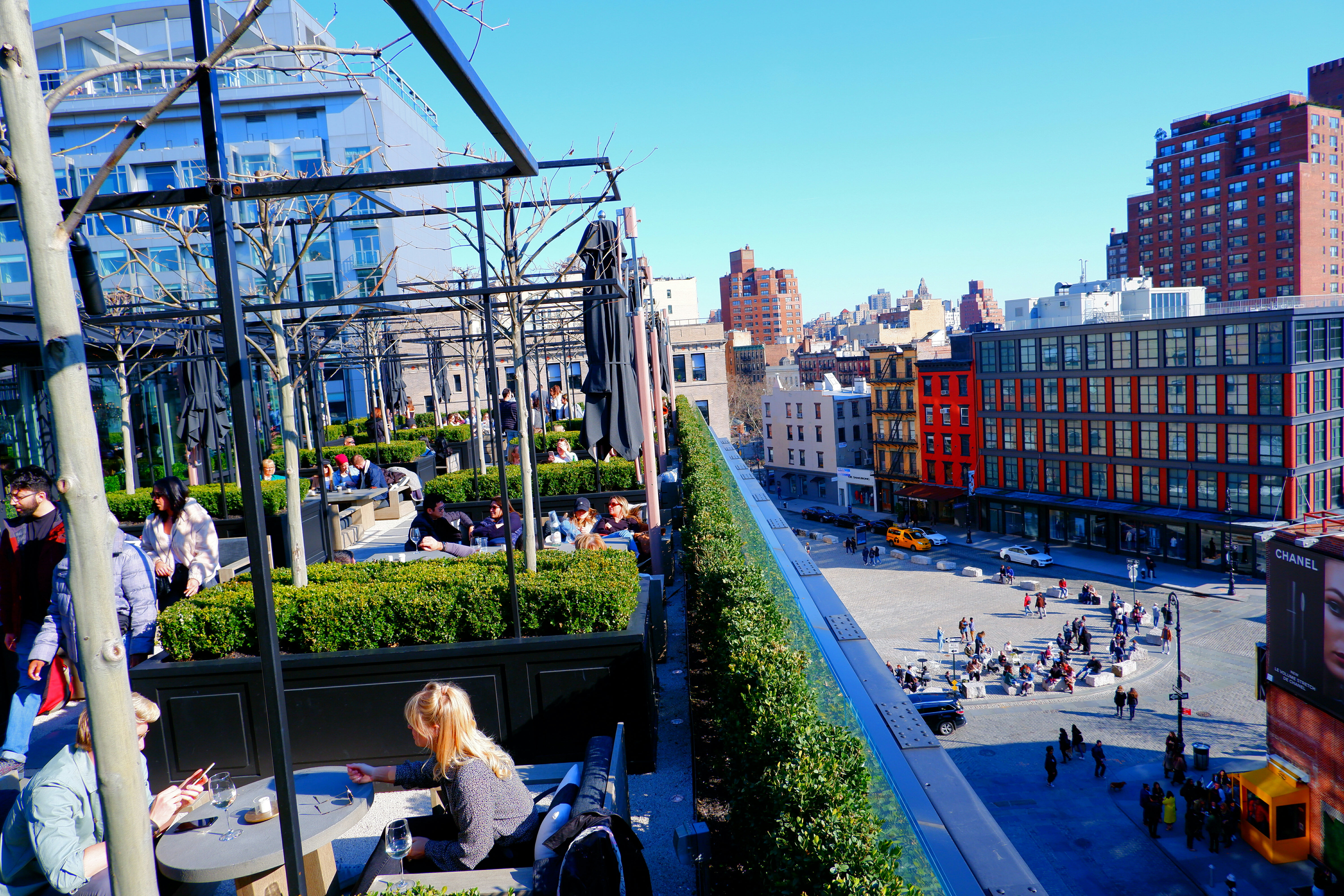 RH Store Rooftop in New York High Quality Wallpaper