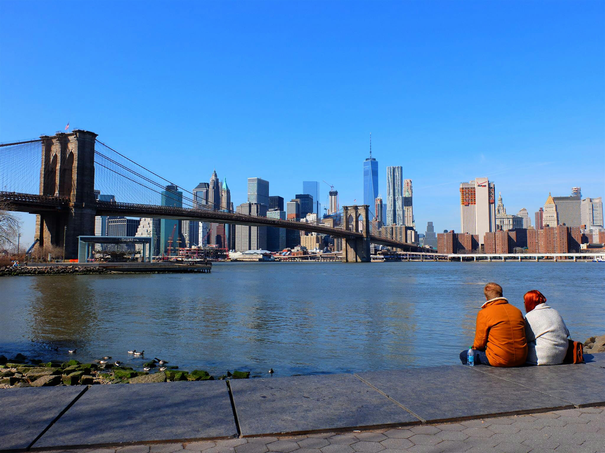 View of Skyline New York City High Quality Wallpaper