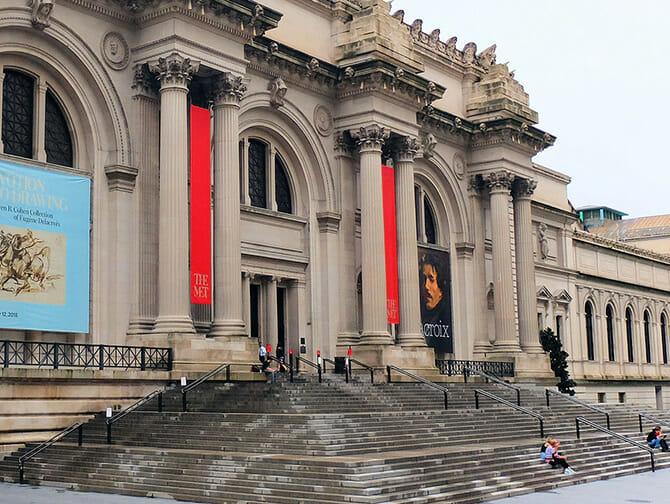 Localizaciones de películas en Nueva York - Gossip Girl las escaleras del Met