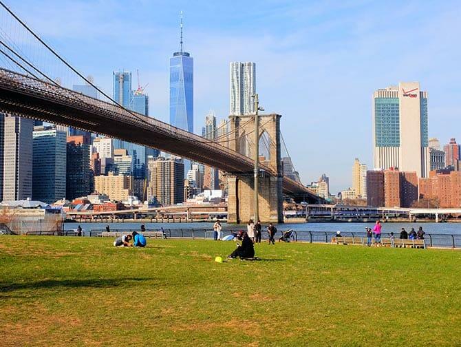 Localizaciones de películas en Nueva York - Sex and the City Brooklyn Bridge
