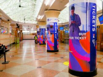 Penn Station en Nueva York - NJ Transit