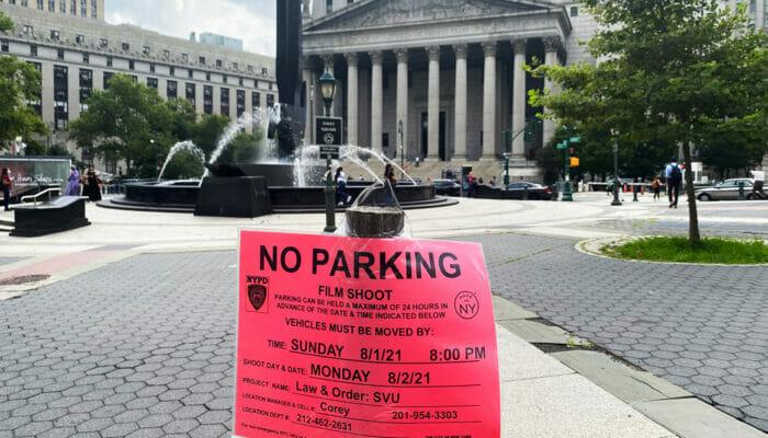 Localizaciones de películas en Nueva York - No parking