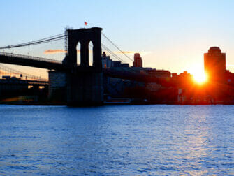 South Street Seaport en Nueva Yorkk Brooklyn Bridge