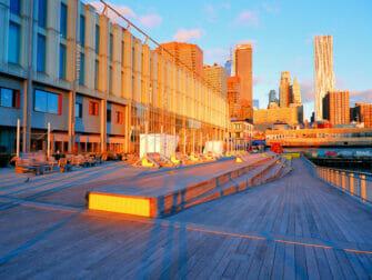 South Street Seaport en Nueva York - Amanecer