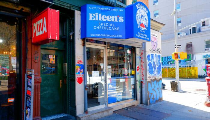 Los mejores cheesecakes de Nueva York - Eileen's Special Cheesecake