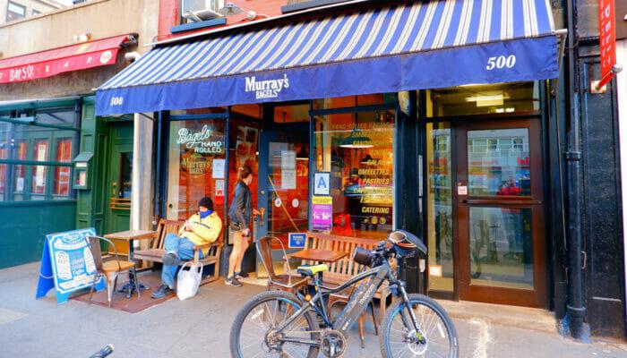 Las mejores cafeterías y bagels de Nueva York - Murrays Bagels