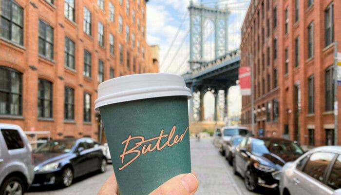 Las mejores cafeterías y bagels de Nueva York - Butler coffee