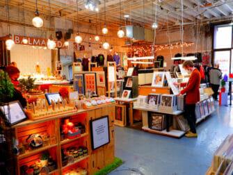 Mercadillos en Nueva York - Artists And Fleas por dentro