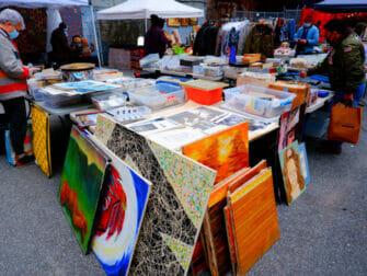 Mercadillos en Nueva York - Chelsea Flea Market Manhattan