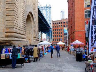 Mercadillos en Nueva York - Dumbo Flea Market Brooklyn