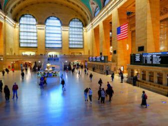 Metro North Railroad en Nueva York Grand Central en Nueva York