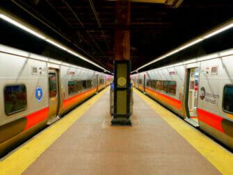Metro North Railroad in New York Metro North en Grand Central - Andén