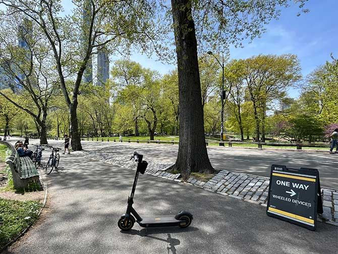 Alquiler de patinetes eléctricos en Nueva York - Central Park