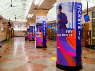 New Jersey Transit en Nueva York - Estación
