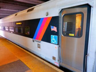 New Jersey Transit en Nueva York - Tren