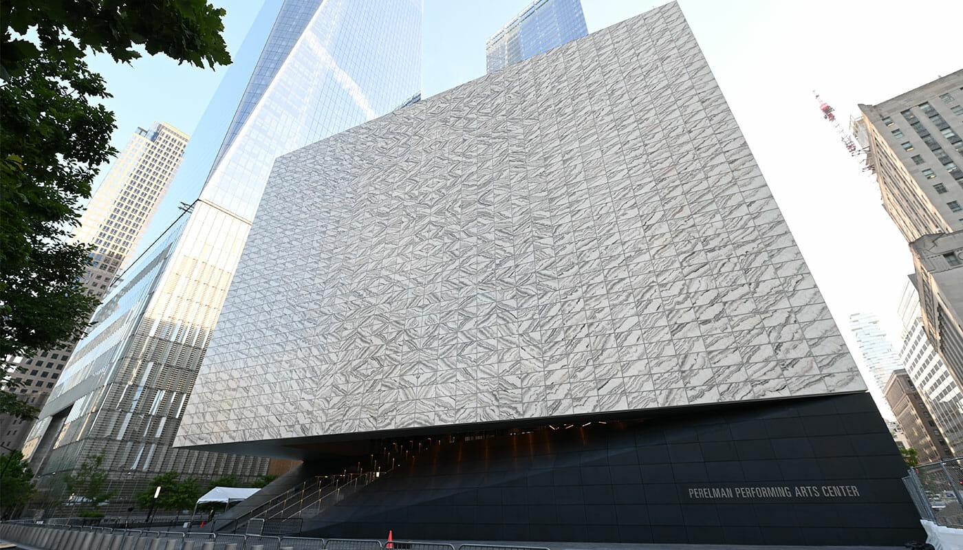 Performing Arts Center en Nueva York – Exterior