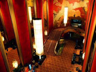 Radio City Music Hall en Nueva York - Dentro