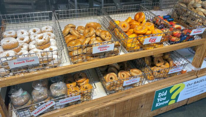 Los mejores bagels de Nueva York - Supermercado