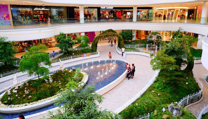 American Dream Mall cerca de Nueva York - Jardín